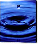 Water Drop Canvas Print by Eric Ferrar