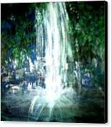 Water Falling Canvas Print