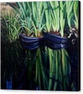 Water Garden Serie-h Canvas Print