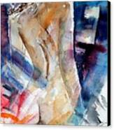 Watercolor  010107 Canvas Print