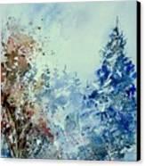 Watercolor  010307 Canvas Print