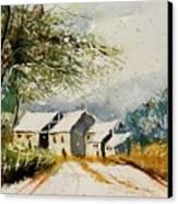 Watercolor 010708 Canvas Print