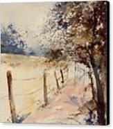 Watercolor  041106 Canvas Print
