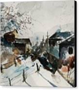 Watercolor  080707 Canvas Print