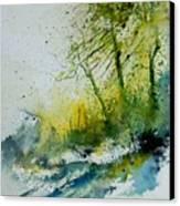 Watercolor 181207 Canvas Print