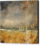 Watercolor  190307 Canvas Print