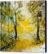 Watercolor 210108 Canvas Print by Pol Ledent