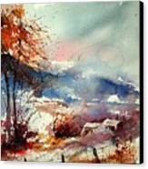 Watercolor 221108 Canvas Print
