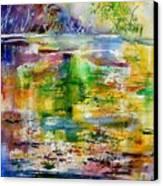 Watercolor 6878 Canvas Print