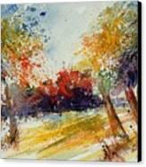 Watercolor 902010 Canvas Print