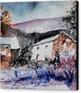 Watercolor 902080 Canvas Print