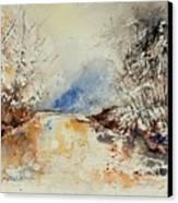 Watercolor 903002 Canvas Print