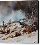 Watercolor Jjook Canvas Print