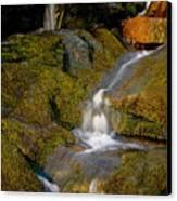 Waterfall At Dawn Canvas Print