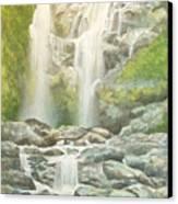 Waterfall Canvas Print by Charles Hetenyi