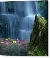 Waterfall02 Canvas Print by Carlos Caetano