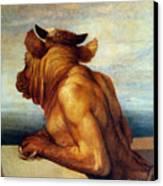 Watts: The Minotaur Canvas Print