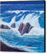 Wave Crashing Canvas Print