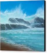 Wave Fury Canvas Print