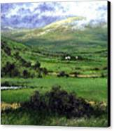 Way To Ardara Ireland Canvas Print