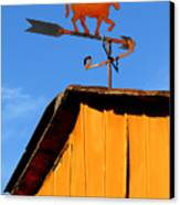 Weathervane Canvas Print by Robert Lacy