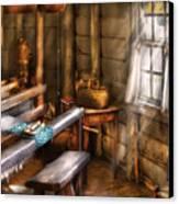 Weaver - The Weavers Room Canvas Print