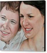 Wedding Portrait Canvas Print