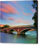 Weeks' Bridge Canvas Print by Rick Berk