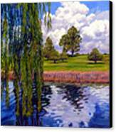 Weeping Willow - Brush Colorado Canvas Print