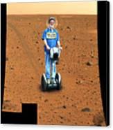 Welcom To Mars Canvas Print