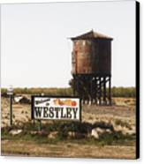 Welcome To Westley Canvas Print