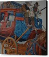 Wells Fargo Stagecoach Canvas Print