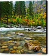 Wenatchee River Canvas Print by Dan Mihai