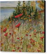 Wendy's Wildflowers Canvas Print