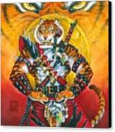Werecat Warrior Canvas Print
