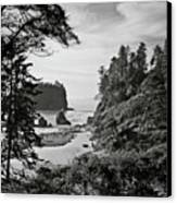 West Coast Canvas Print by Sbk_20d Pictures