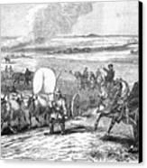 Westward Expansion, 1858 Canvas Print by Granger