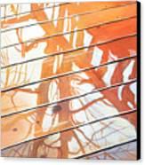 Wet Deck 2 Canvas Print