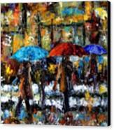 Wet Winter Day Canvas Print