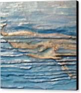 Whale Canvas Print by Doris Lindsey