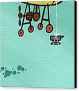 What Goes Up.... Canvas Print by Dan Keough