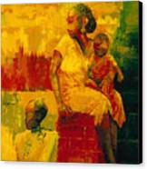What Is It Ma Canvas Print by Bayo Iribhogbe