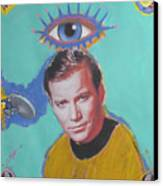 What Would Captain Kirk Do Canvas Print