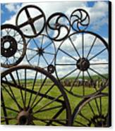 Wheels Canvas Print