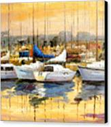 Where Did I Park My Boat Canvas Print