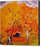 Whimsical Wind Canvas Print