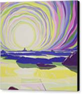 Whirling Sunrise - La Rocque Canvas Print by Derek Crow
