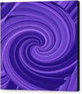 Whirlpool Blues Canvas Print
