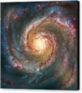 Whirlpool Galaxy  Canvas Print by Jennifer Rondinelli Reilly - Fine Art Photography