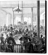 Whiskey Ring Trial, 1876 Canvas Print by Granger